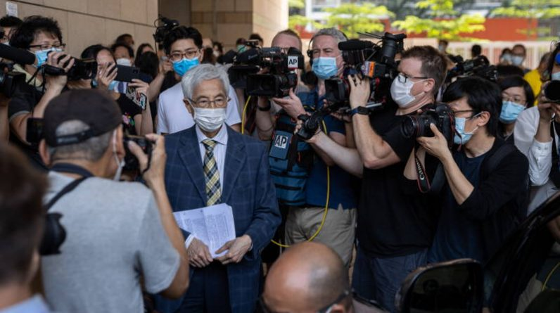 Hong Kong court convicts prominent members of the opposition