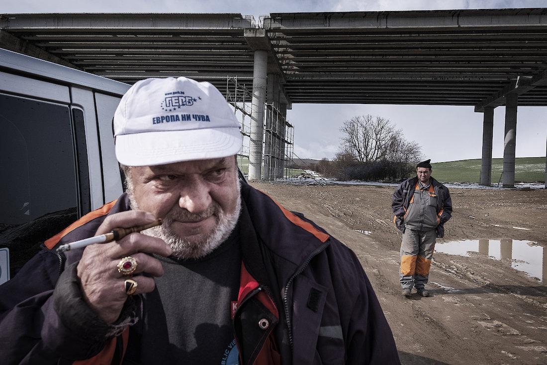 In Bulgaria in Bogko Borissov, victory comes with a cement mixer