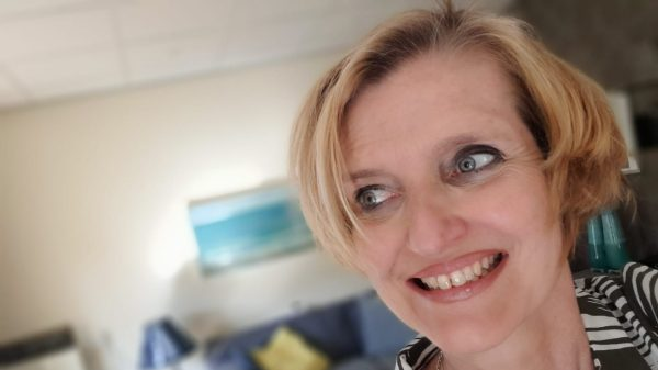 Janet Gransbergen (54) has Parkinson's disease