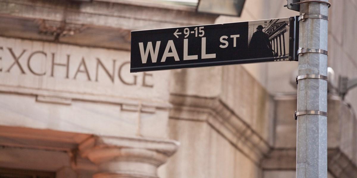 Wall Street licht lager