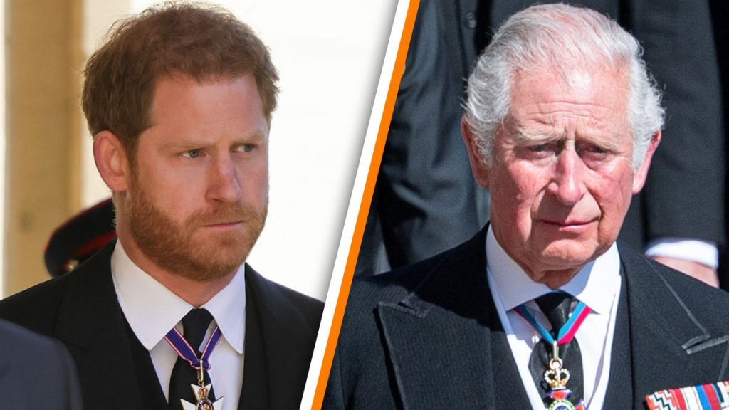"Prince Harry wrote a ""very personal letter"" to Charles"