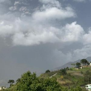 St. Vincent's volcano continues to dump ash and evacuate thousands of residents |  right Now