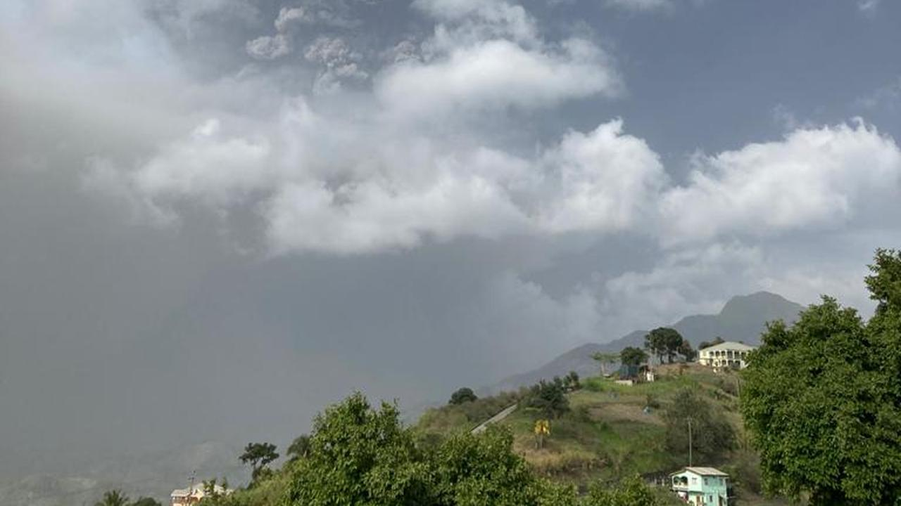 St. Vincent's volcano continues to dump ash and evacuate thousands of residents    right Now