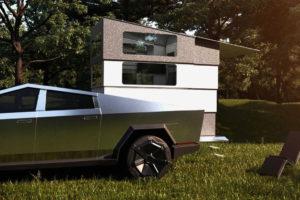 Cyberlandr: a Tesla Cybertruck telescopic landing unit