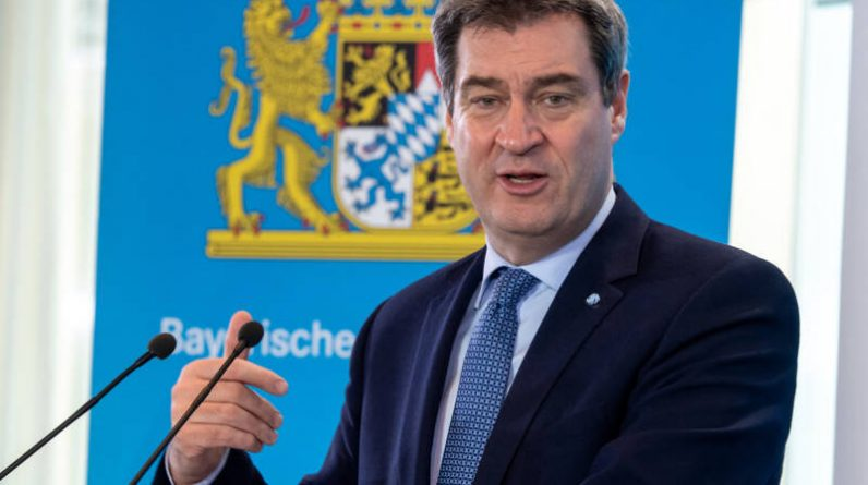 The Bavarian prime minister and leader of the Christian Social Union, Söder, also wants to succeed Merkel