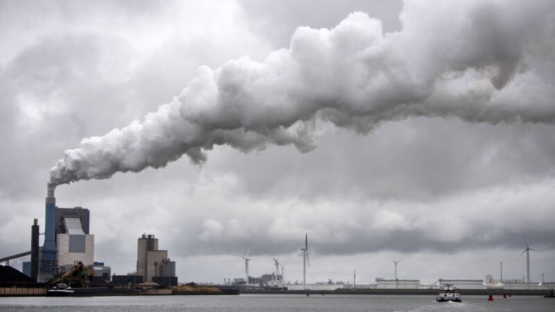 The International Energy Agency predicts the second-highest increase in carbon dioxide emissions ever
