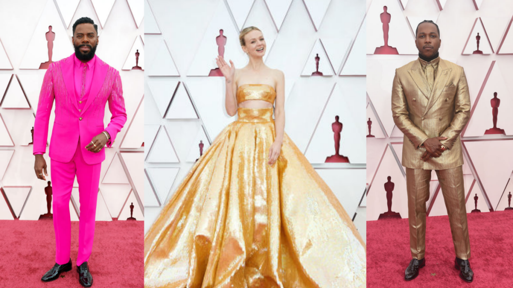 The Oscars red carpet was a happy comeback for personal events