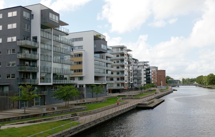 The real estate market in Scandinavia is now the same size as the United Kingdom