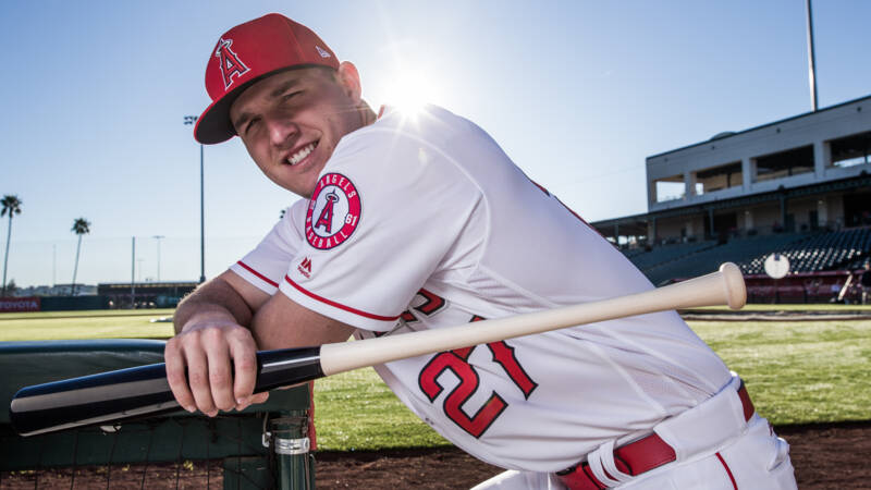 Trout may always be the best baseball player, but America does not see him