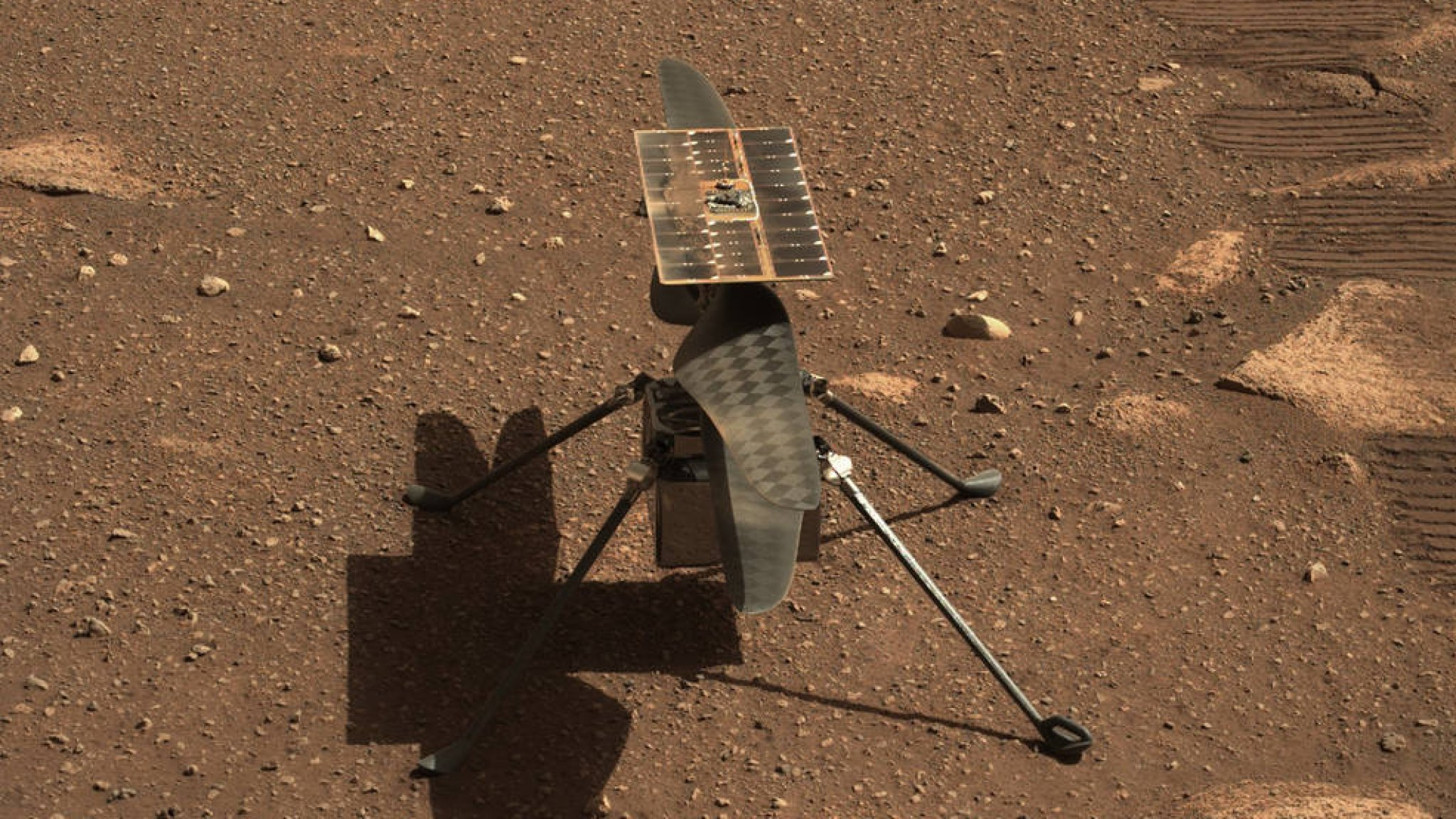 Will it work?  May the first helicopter flight on Mars on Sunday