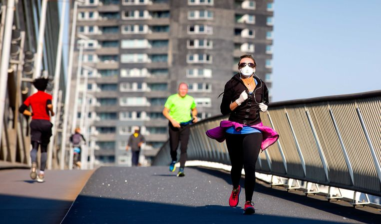 Young women in particular jogged more often this year