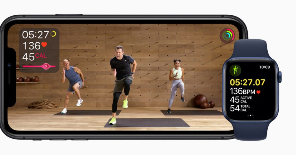 Apple is also focusing on fitness with its Streaming Service |  sport