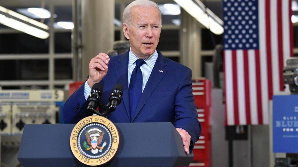 'Biden's budget proposal against the Republicans'