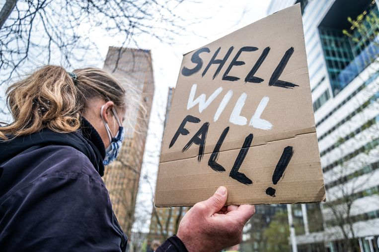 """Cheering environmentalists: """"But I have no illusions: Shell will not stick to this."""""""