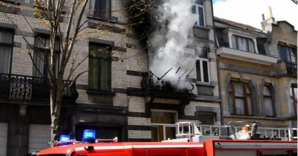 Children killed in a heavy house fire in Brussels |  abroad