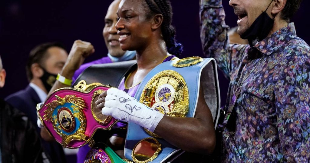 Clarissa Shields Boxer first world champion with four titles |  Martial arts