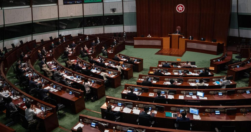 Hong Kong Parliament approves fundamental reform of the electoral system    abroad