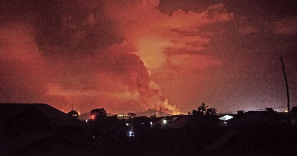 Photos: Lava flows from the infamous Congo volcano |  abroad