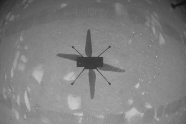 Small helicopter ingenuity completes the fourth flight on Mars so far - Elm