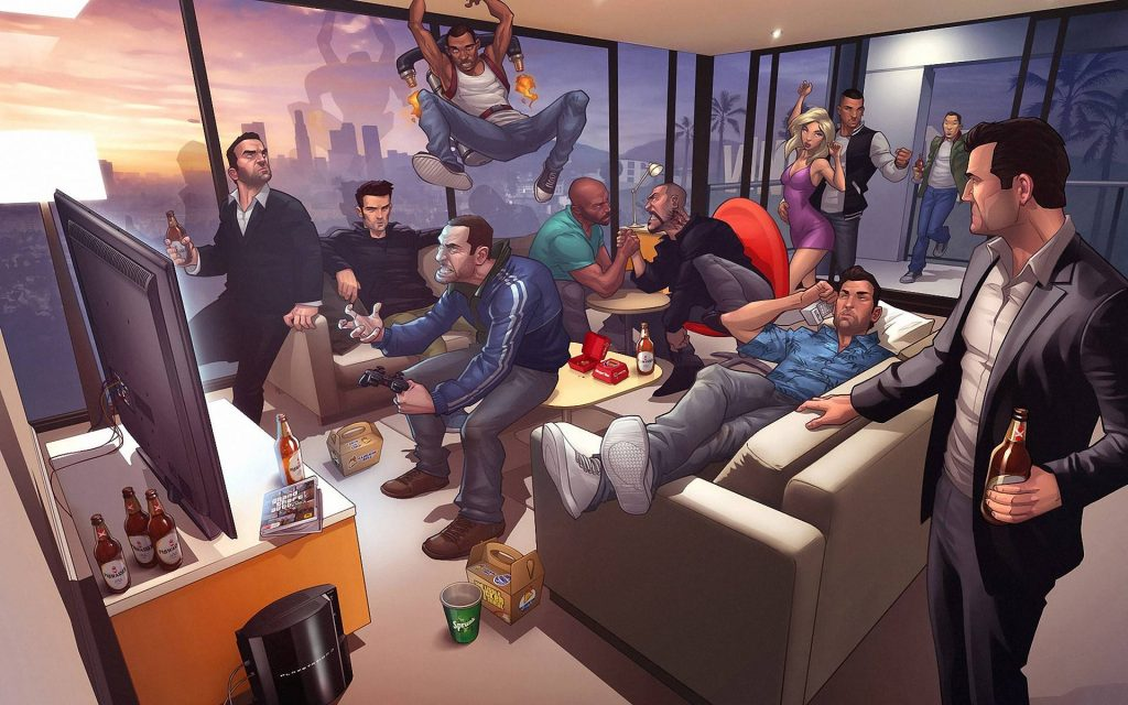 Take Two comes with dozens of games, GTA VI only after 2022