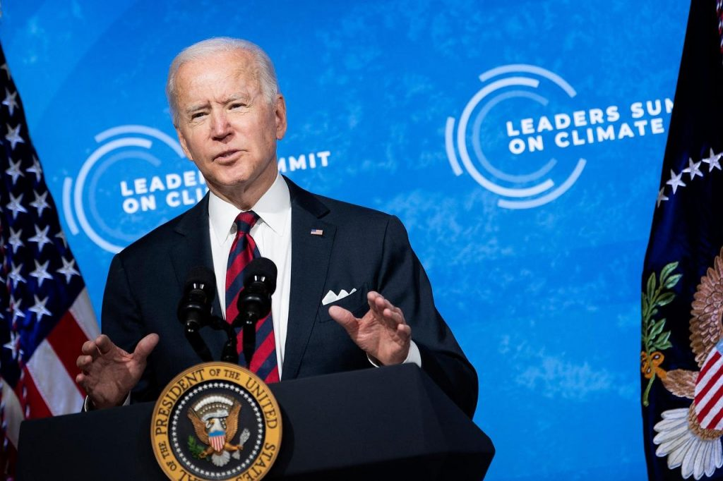 The role of the United States' climate leadership and President Joe Biden is very ambitious