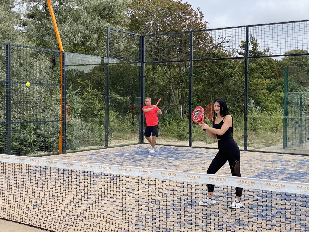 The sporting padel is now also famous in Castricum