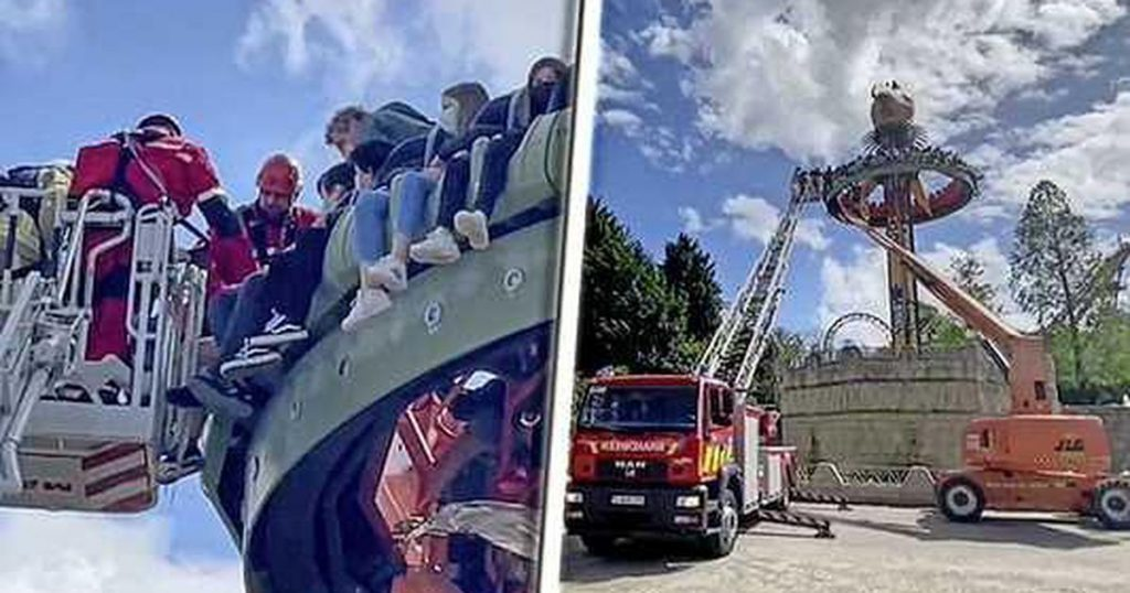 Thirty Children Stuck In A Theme Park In Belgium |  abroad