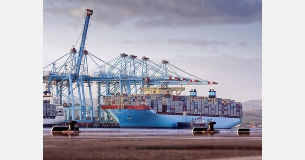 Two hundred new product containers from Latin America are stranded in the port of Algiers