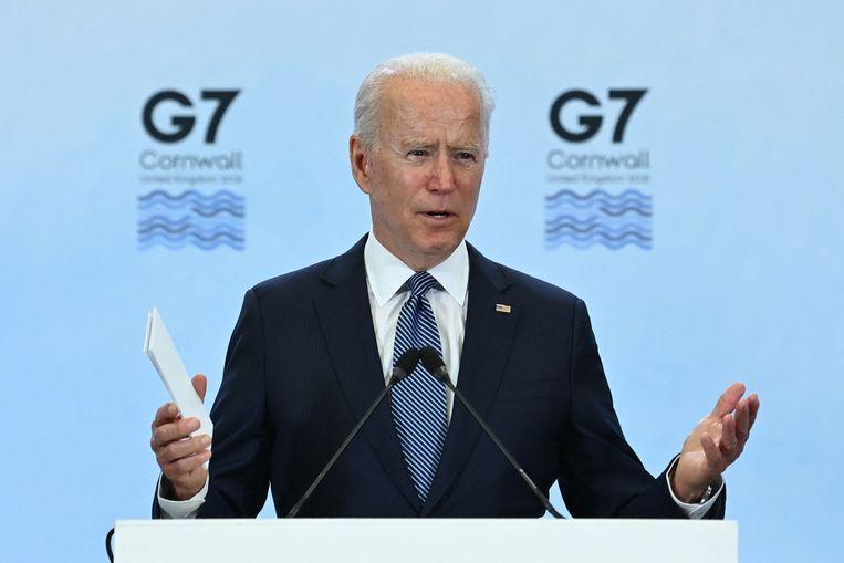 "Biden hails ""exceptional"" cooperation at the G7 summit"