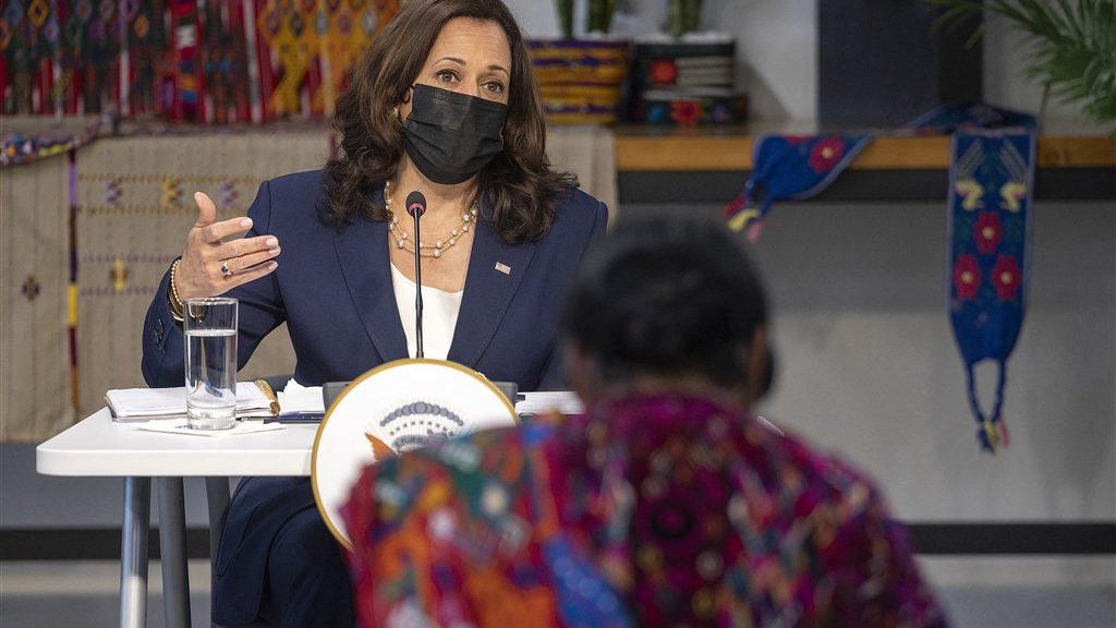 """Don't come, don't come,"" Vice President Kamala Harris told asylum seekers."