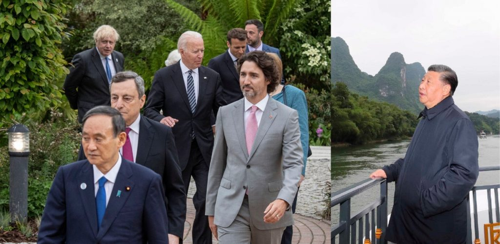 How the G7 is putting pressure on China in different ways