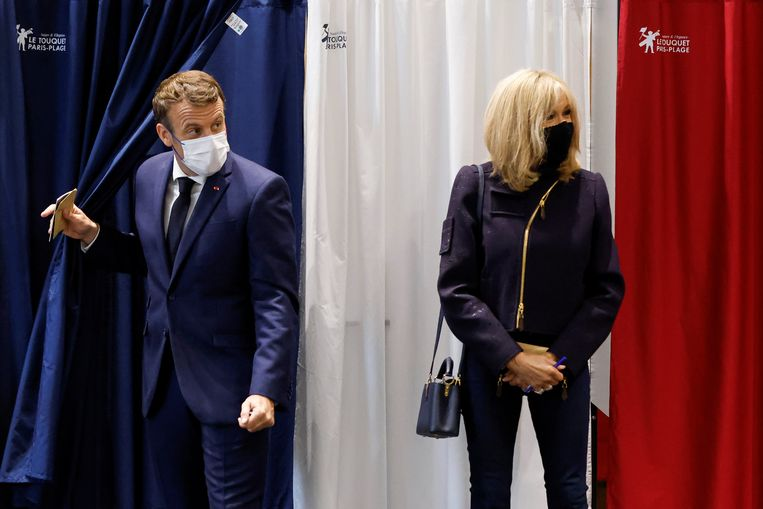 In France, Le Pen and Macron are not winning anywhere, old parties are almost everywhere