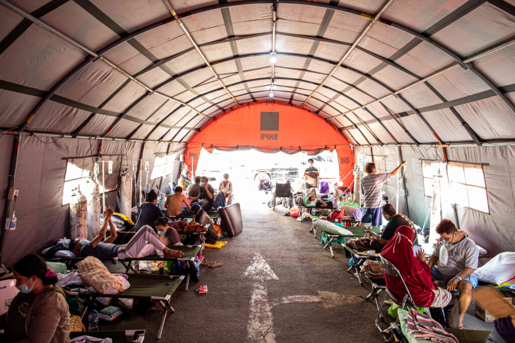 Indonesia's healthcare system on the verge of collapse due to delta variable