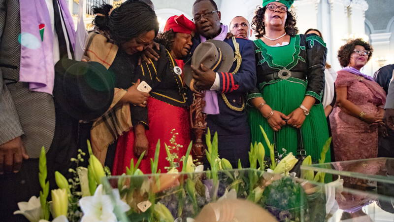 Namibian relatives argue that German recognition of the genocide is insufficient