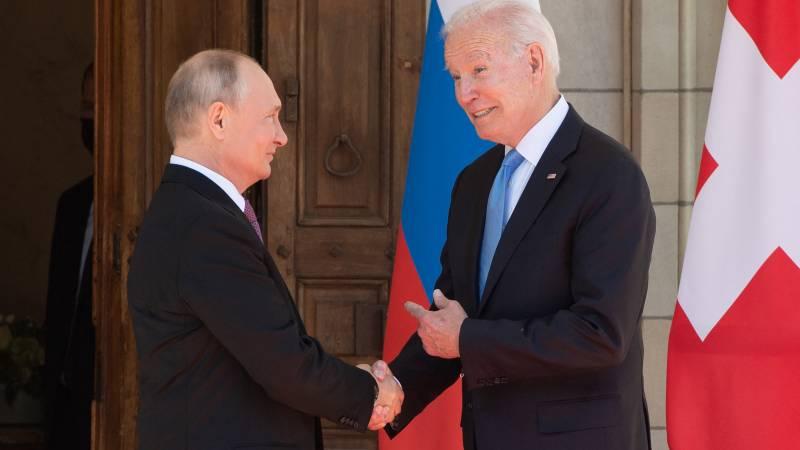 Putin and Biden summit kicks off in Geneva