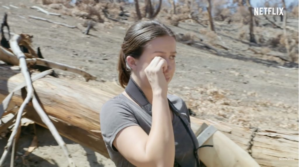 Scientists break down in tears when they see the consequences of the climate crisis