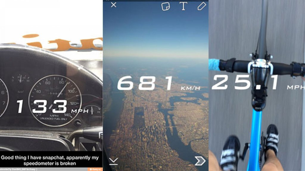 Snapchat stops speedometer after being criticized for reckless driving
