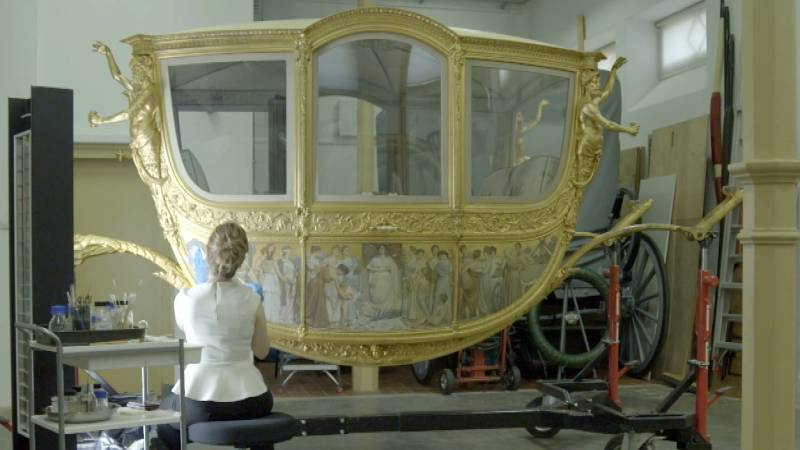 """""""The restored golden coach can help us look at the past differently"""""""