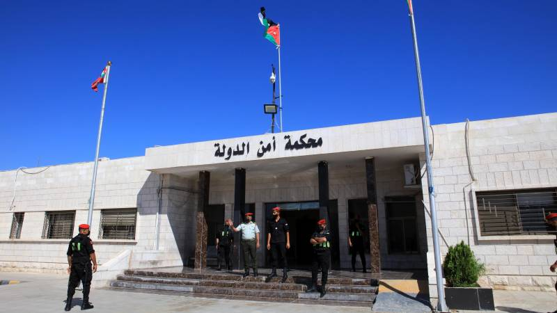 15 years in prison for close associates and a member of the Jordanian royal family on charges of sedition