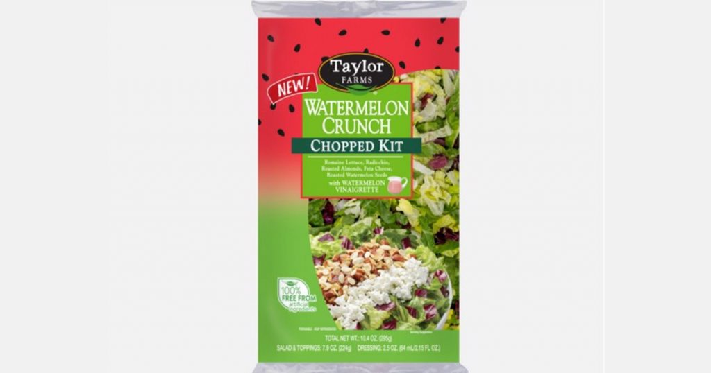New watermelon salad kit introduced in North America