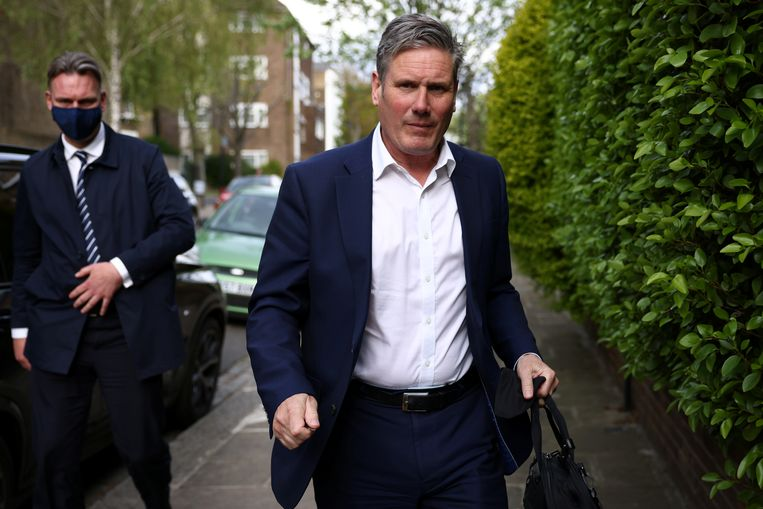 Labor leader Keir Starmer is not a voter yet.  Reuters photo