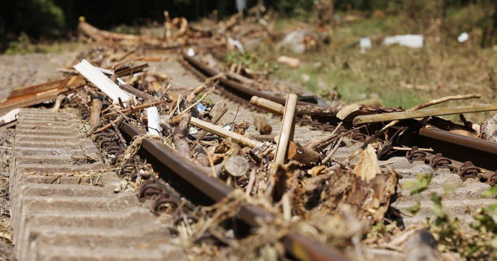 Deutsche Bahn: 1.3 billion euros in flood damage |  abroad
