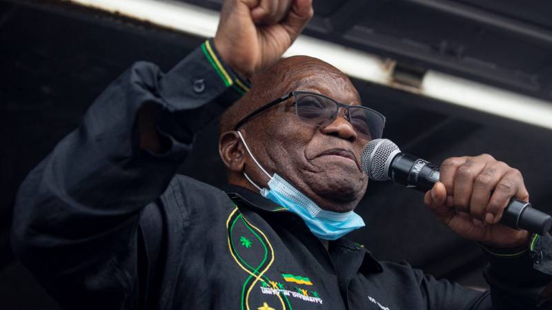 Ex-President Zuma reports to prison ahead of schedule