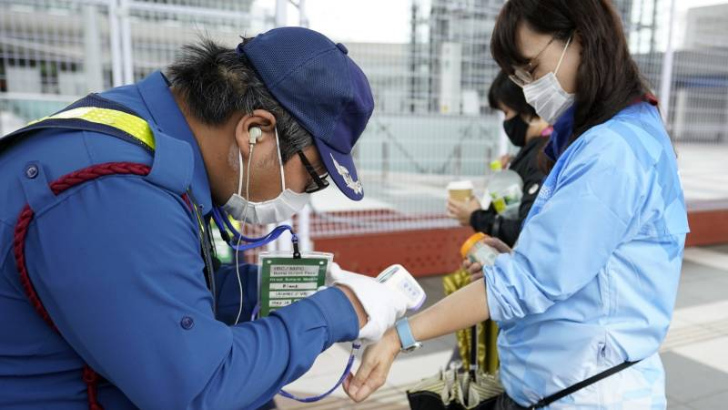 Japan tightens its measures • Slightly eased quarantine rules for vaccinations
