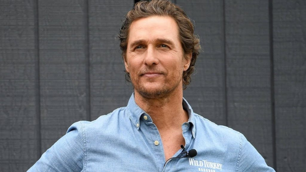 Matthew McConaughey addresses the United States on National Day