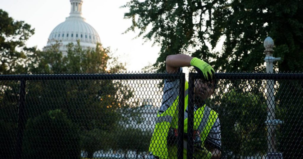 Six months after the storming of the Capitol, the removal of the Capitol fence begins |  abroad