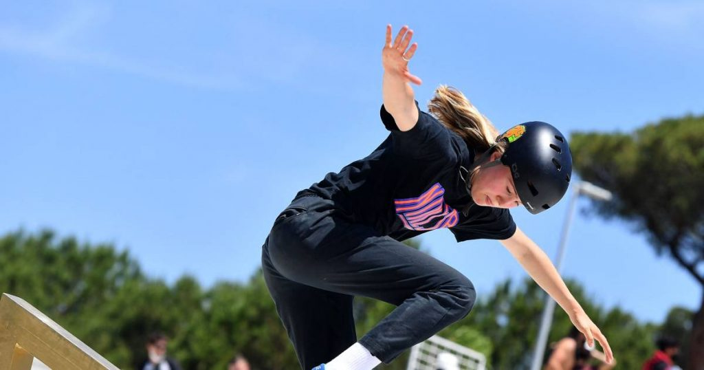 Skateboarders after the World Cup, sure to play |  the Olympics
