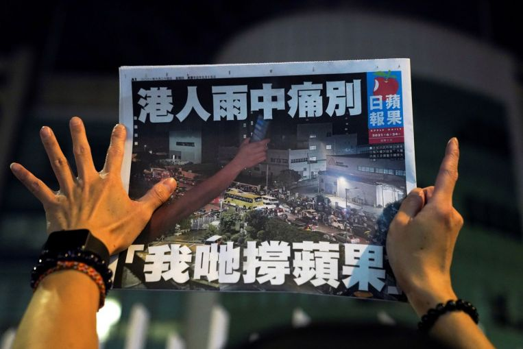 The United States and its allies condemn the crackdown on the Apple Daily and US News and Top Stories in Hong Kong.