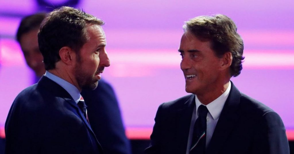 The five decisive encounters in the European Championship final between England and Italy