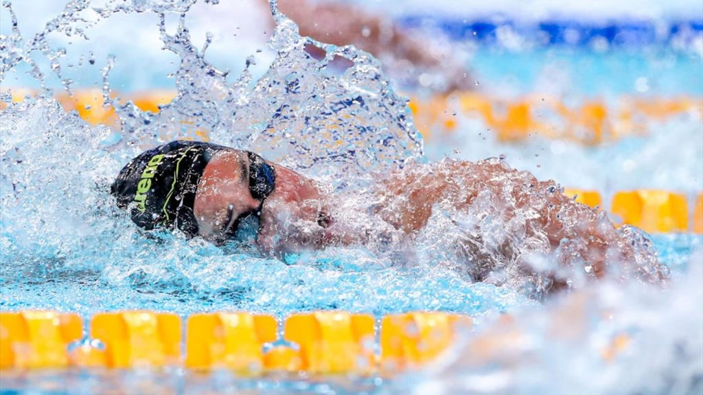 Tokyo 2020 | The 4 x 100m freestyle relay team easily into the final